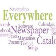 2011 – Writing is Everywhere