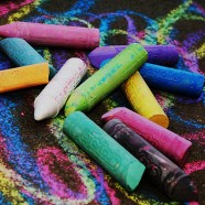 """CHALK THE POEM"" – Kid's Art Time – Sat. April 26th"
